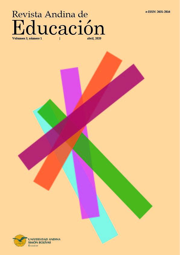 Revista Andina de Educación 3(1)